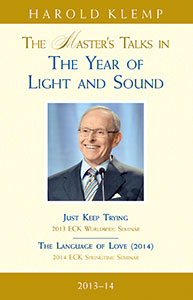 The Master's Talks in The Year of Light and Sound—2013–14