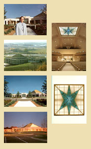 Set of six Temple of ECK postcards