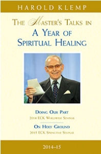 The Master's Talks in A Year of Spiritual Healing—2014–15